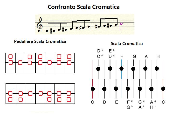 Confronto Scala Cromatica