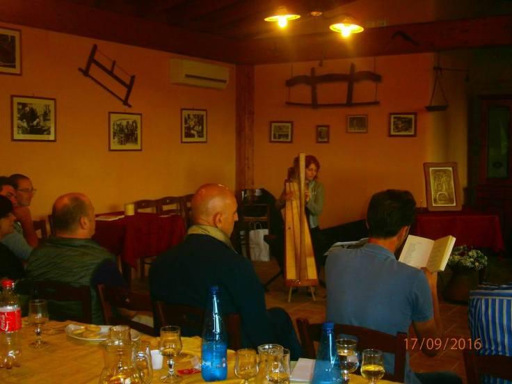 Teatro e sottofondo musicale Vanessa D'Aversa M° Cross Strung Harfe 66