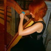 tuning moment Vanessa D'Aversa M° Cross Strung Harfe 66
